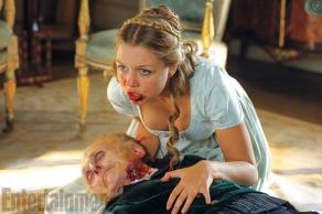 Jess Radomska in 'Pride and Prejudice and Zombies'