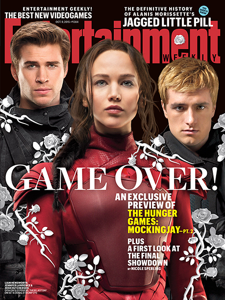 in 'The Hunger Games: Mockingjay - Part 2' EW Cover