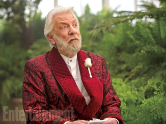 Donald Sutherland in 'The Hunger Games: Mockingjay - Part 2'