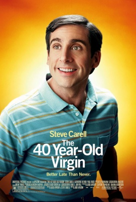 'The 40-Year Old Virgin' Poster