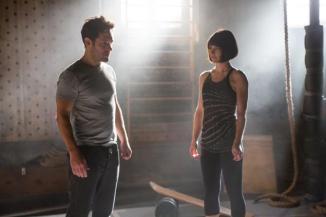 Paul Rudd & Evangeline Lilly in 'Ant-Man'