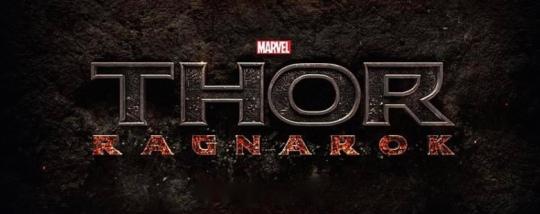'Thor: Ragnorak' Logo