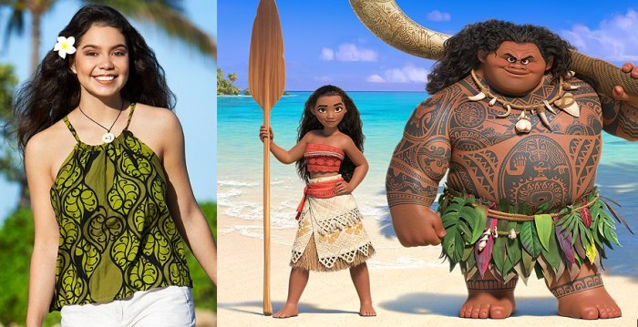 Auli'i Carvalho for 'Moana'