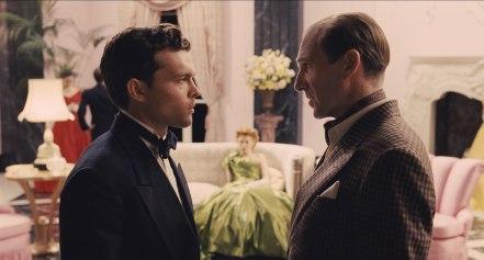 Alden Ehrenreich & Ralph Fiennes in 'Hail, Caesar!'