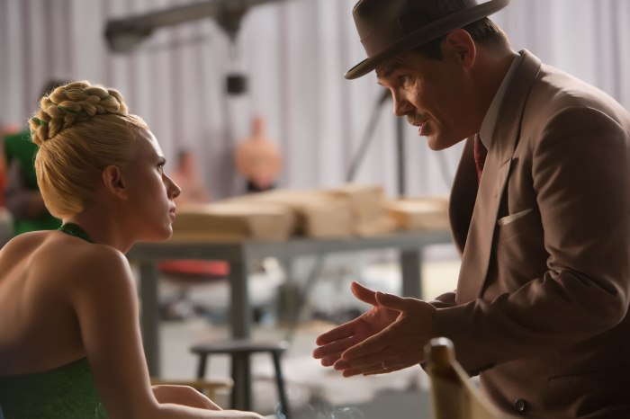 Scarlett Johansson & Josh Brolin in 'Hail, Ceasar!'