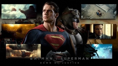 'Batman V Superman: Dawn of Justice' Collage