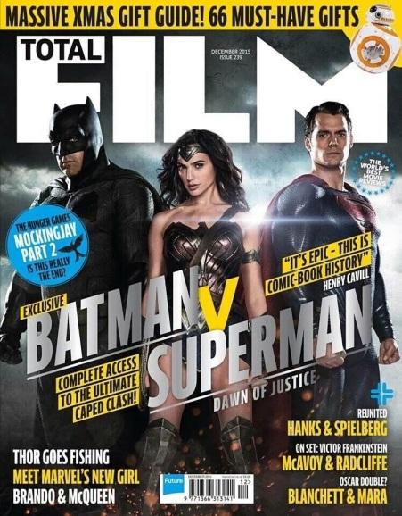 Total Film 'Batman V Superman: Dawn of Justice' Cover