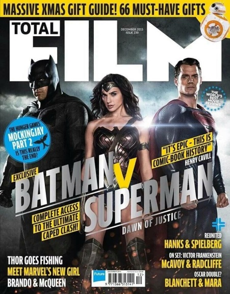 Total Film 'Batman V Superman: Dawn of Justice' Cover