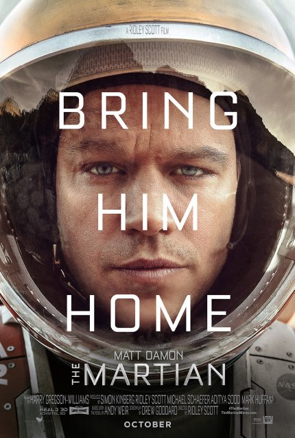 'The Martian' Poster