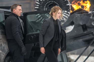 Daniel Craig & Lea Seydoux in 'Spectre'
