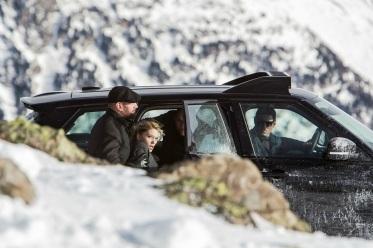 Dave Bautista & Lea Seydoux in 'Spectre'