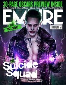 'Suicide Squad' The Joker Empire Cover