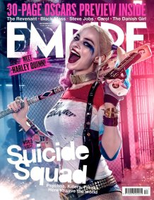 'Suicide Squad' Harley Quinn Empire Cover