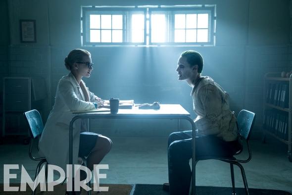 Margot Robbie & Jared Leto in 'Suicide Squad'