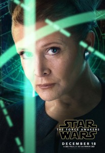 'Star Wars: The Force Awakens' Princess Leia Character Poster