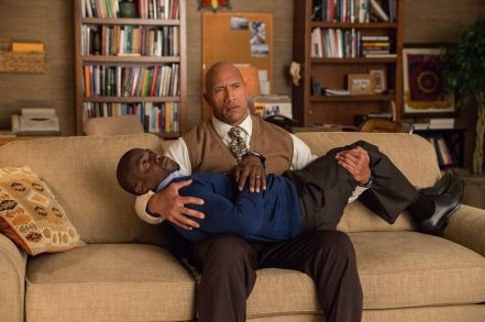 Dwayne Johnson & Kevin Hart in 'Central Intelligence'
