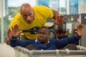 Dwayne Johnson & Kevin Hart in 'Central Intelligence'