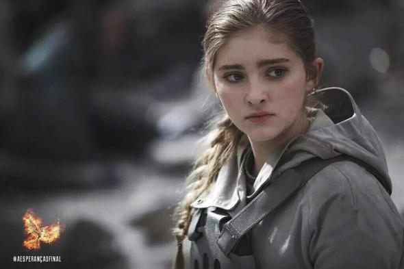 Willow Shields in 'The Hunger Games: Mockingjay - Part 2'