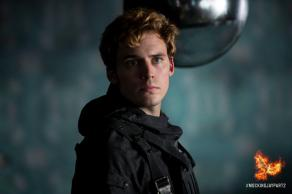 Sam Claflin in 'The Hunger Games: Mockingjay - Part 2'