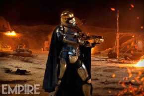 Gwendoline Christie as Captain Phasma in 'Star Wars: The Force Awakens'