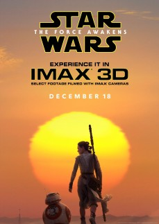 'Star Wars: The Force Awakens' IMAX Poster