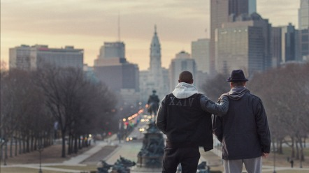 Michael B. Jordan & Sylvester Stallone in 'Creed'