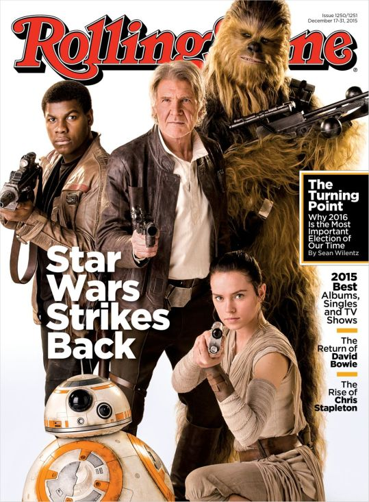 Rolling Stone STAR WARS: THE FORCE AWAKENS Cover