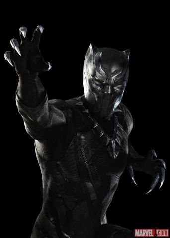 Chadwick Boseman as Black Panther for CAPTAIN AMERICA: CIVIL WAR