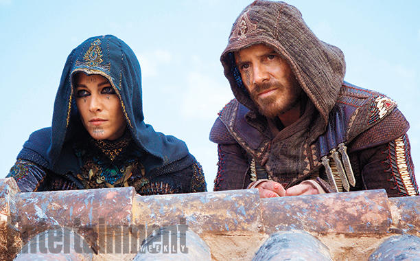 Ariane Label & Michael Fassbender in ASSASSIN'S CREED