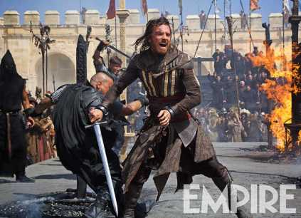 Michael Fassbender as Aguilar in ASSASSIN'S CREED