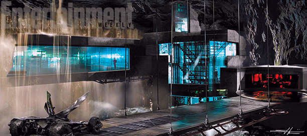 BATMAN V SUPERMAN Batcave