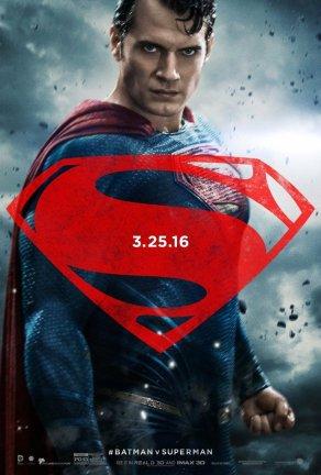 BATMAN V SUPERMAN Superman Character Poster