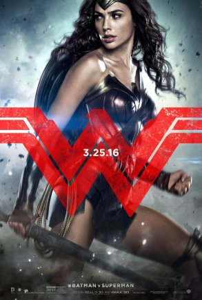 BATMAN V SUPERMAN Wonder Woman Character Poster