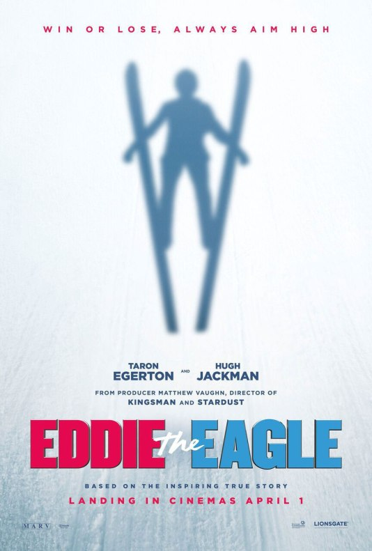 EDDIE THE EAGLE International Teaser Poster