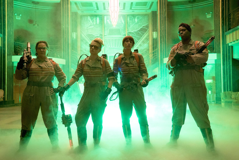 Ghostbusters Reboot Cast Hi