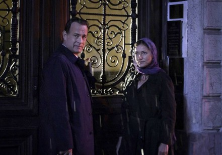 Tom Hanks & Sidse Babett Knudsen in INFERNO