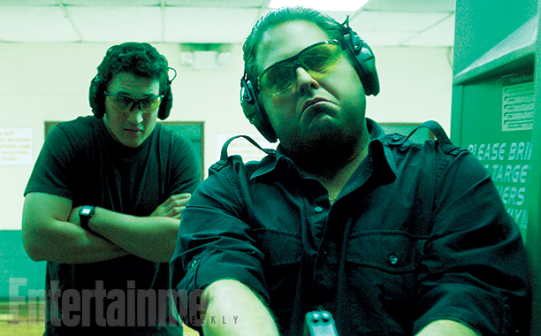 Jonah Hill & Miles Teller in ARMS IN THE DUDES