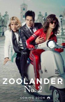 ZOOLANDER 2 Teaser Poster