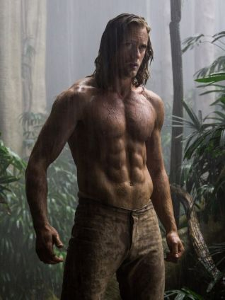 Alexander Skarsgard as Tarzan in THE LEGEND OF TARZAN