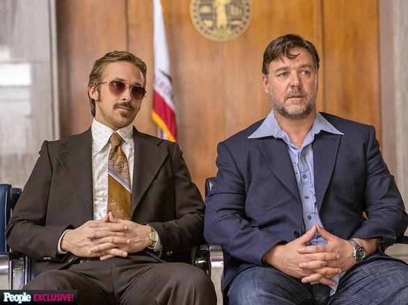 Ryan Gosling & Russell Crowe in THE NICE GUYS