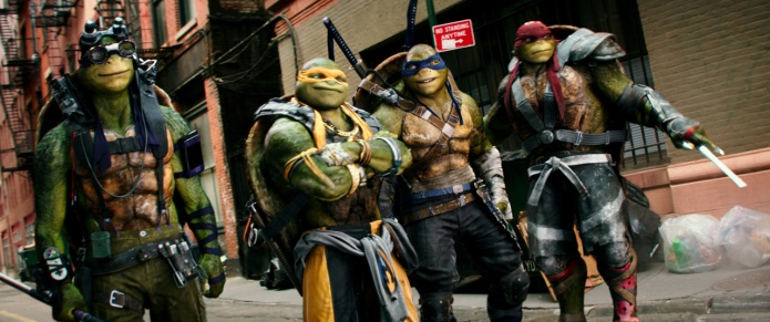 The Turtles for TEENAGE MUTANT NINJA TURTLES: OUT OF THE SHADOWS