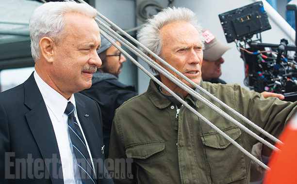 Tom Hanks & Clint Eastwood for SULLY