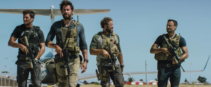 Cast of '13 Hours: The Secret Soldiers of Benghazi'