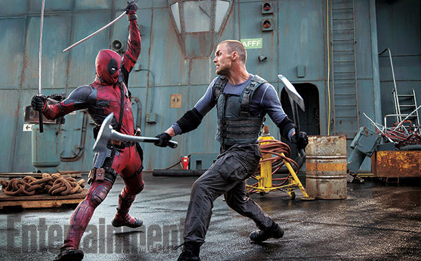 Ryan Reynolds & Ed Skrein in DEADPOOL