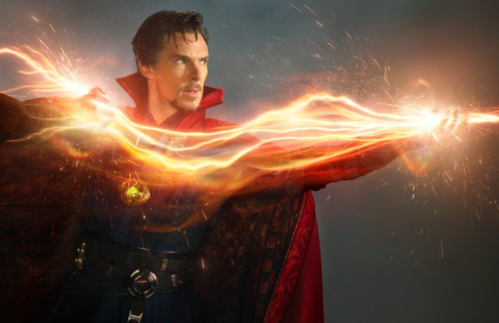 Benedict Cumberbatch as Doctor Strange