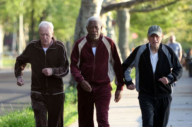 Michael Caine, Morgan Freeman & Alan Arkin for GOING IN STYLE