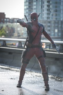 Ryan Reynolds as Deadpool in DEADPOOL
