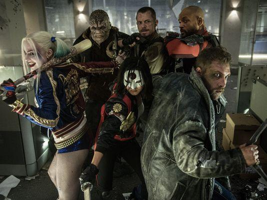 Cast of 'Suicide Squad'