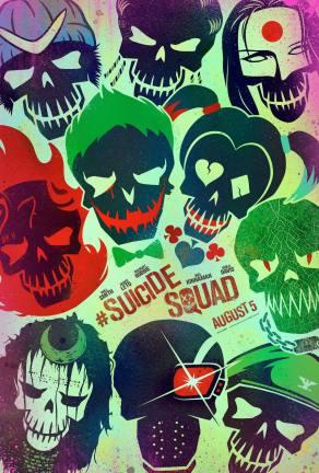 'Suicide Squad' Teaser Poster
