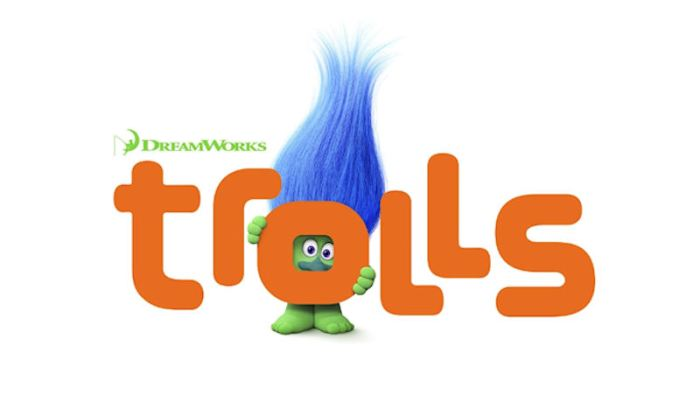 'Trolls' Logo